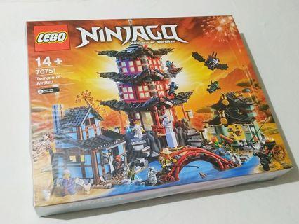 Lego 70751 Temple of Airjitzu (Ninjago MISB Retired 12 minifigures 全新 未開 絕版 樂高 忍者 12 人仔)