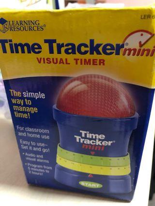 Time tracker from learning resources