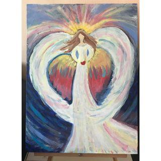 Angel of Peace - Decorative Painting