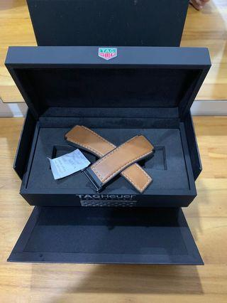 100% Authentic Tag Heuer Modular 45 Leather strap Brown