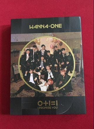 Wanna One I Promise You Night Version Bae Jinyoung set