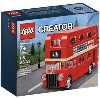 Lego Creator 40220 Mini London Bus
