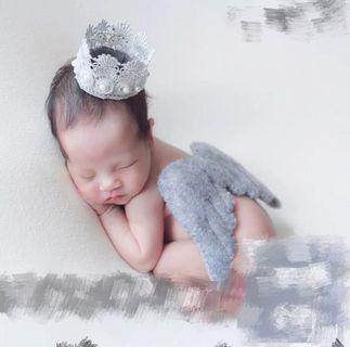 🚚 Newborn photoshoot baby props