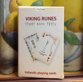 Viking Runes Icelandic Playing Cards