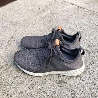 New Balance 慢跑鞋 MCRUZOG 2E 紐巴倫 寬楦 膠底 跑鞋 透氣 編織 灰 男鞋 二手9成新