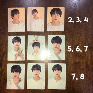 Jin - LY Tour MD Mini Photocard