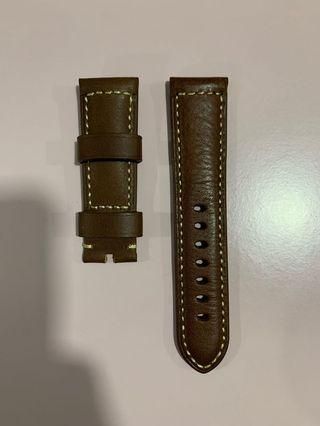 Brand new Panerai calf genuine leather strap 3rd party