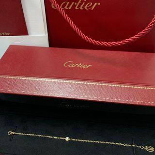 Cartier 18k金 鑽石手鍊