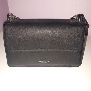 Oroton Forte Clutch Bag - Black - 55% off brand new with tag