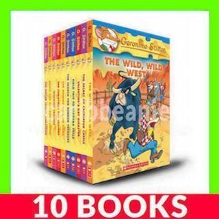Geronimo Stilton Collection (Book 21-30) - 10 Books