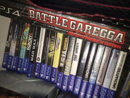 PS4 Games 32sgd each