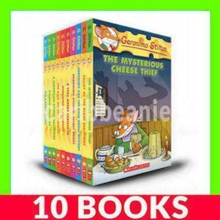 Geronimo Stilton Collection (Book 31-40) - 10 Books
