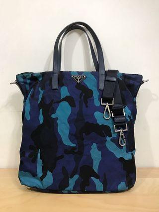 90% new-Prada 2 way Tote Bag