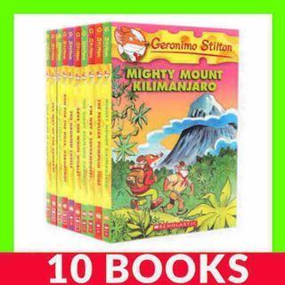 Geronimo Stilton Collection (Book 41-50) - 10 Books