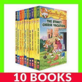 Geronimo Stilton Collection (Book 51-60) - 10 Books