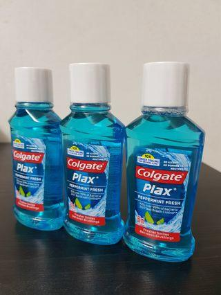 Colgate Plax Mouth Rinse - Peppermint Fresh Travel Size