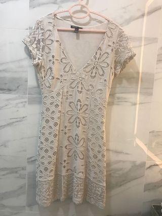 Lace Dress -Mango