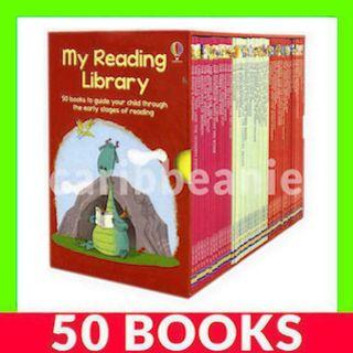 Usborne My Reading Library Box Set (2nd Second Library) - 50 Books