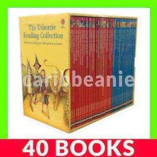 Usborne Reading Collection Box Set (3rd Third Library) - 40 Books