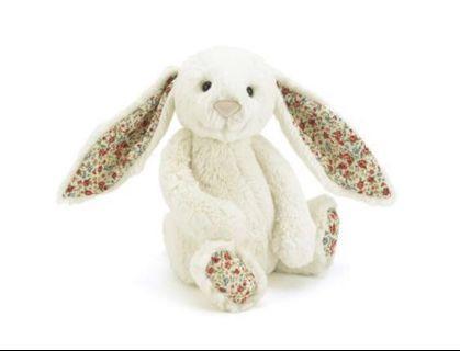 🚚 Jellycat Large Blossom Bashful Bunny in Cream
