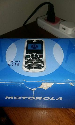 Motorola C118 Phone #SpareForFix