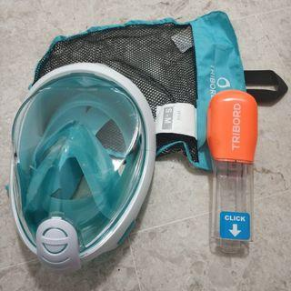 Easybreath Surface Snorkelling Mask