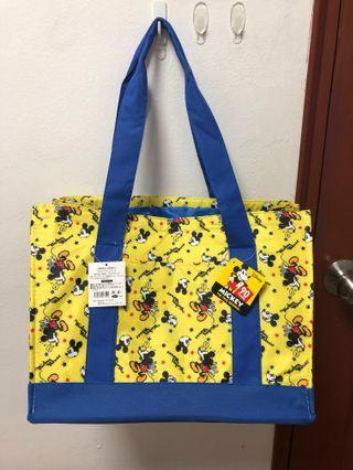 Disney Princess and Mickey Mouse Character  Cooler Shopping Bag from Toreba