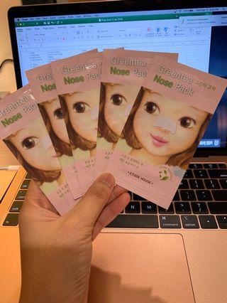 Green Tea Nose Pack