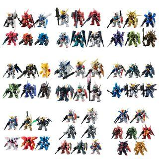FW Gundam Converge #1-#9 日版9套