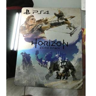 PS4 地平線期待黎明 鐵盒 遊戲片