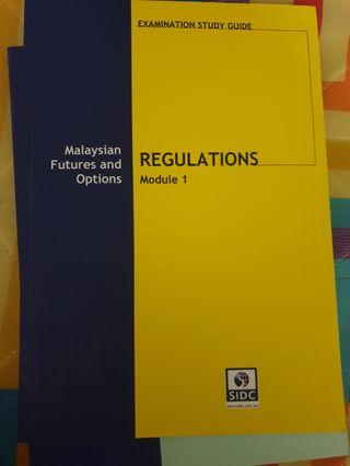 MODULE 1 - FUTURES AND OPTIONS (SECURITIES COMMISSION)