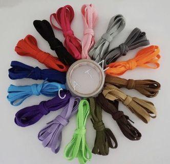 < CATZ > Shoe Lace Shoe String Sport Shoe Lace Flat Shoe Lace Colourful Shoe Lace