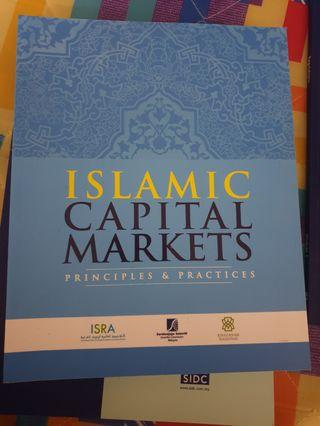 Islamic Capital Markets - Principles & Practices