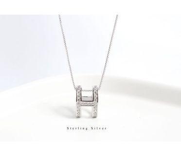 🚚 S925 silver necklace