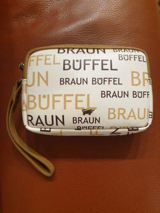 Braun Buffel pouch
