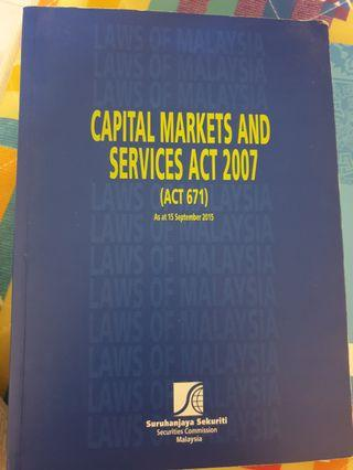 Capital Markets & Services Act 2007