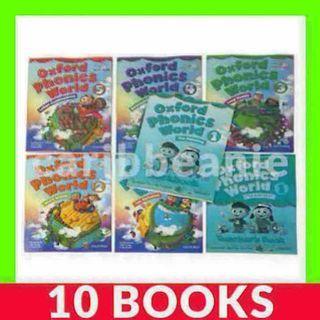Oxford Phonics World - 10 Books