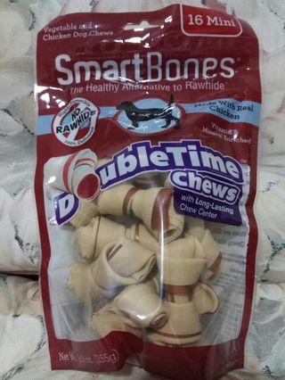 SMARTBONES DOUBLE TIME MINI CHICKEN CHEW 16pcs
