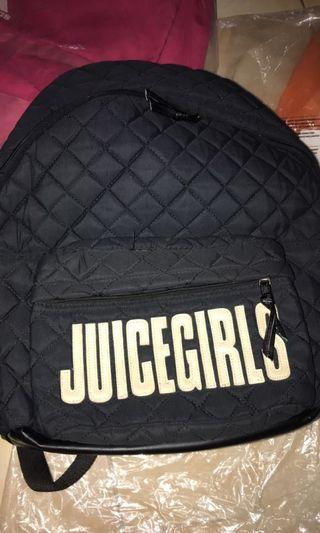 black backpack by JuiceGirls