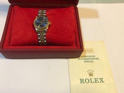 Rolex 69173 Full Set N Series Half Gold