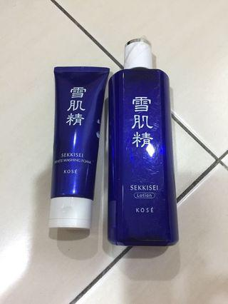 Kose products..price for 2 items