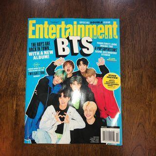 BTS Entertainment Weekly Magazine
