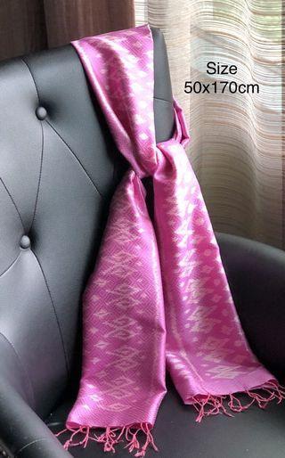 🚚 Silk Shawl 100% Mulberry Silk from Thailand