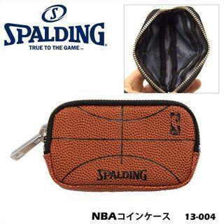 【💥運動精品】SPALDING 籃球皮長方形散紙包 - Coin Case