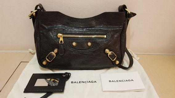 Balenciaga giant gold hip