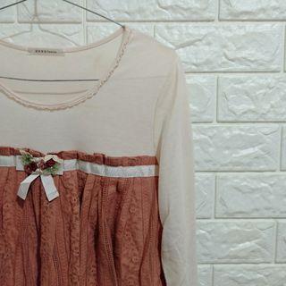 Atasan blouse lengan panjang // long sleeve top