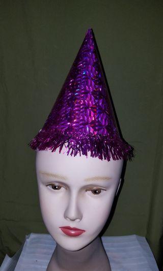 小童閃亮派對紙帽 Kid shiny pattern paper party hat