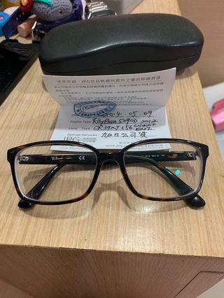 Ray Ban 雷朋 琥珀 平光眼鏡