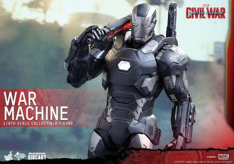 🚚 Hot Toys War Machine civil war 3