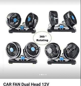 dual fan for your car